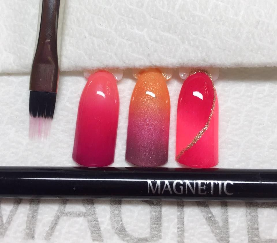 Ombre Designs with Gelpolish & Magnetic Ombre Brush ( 176041) | nail ...