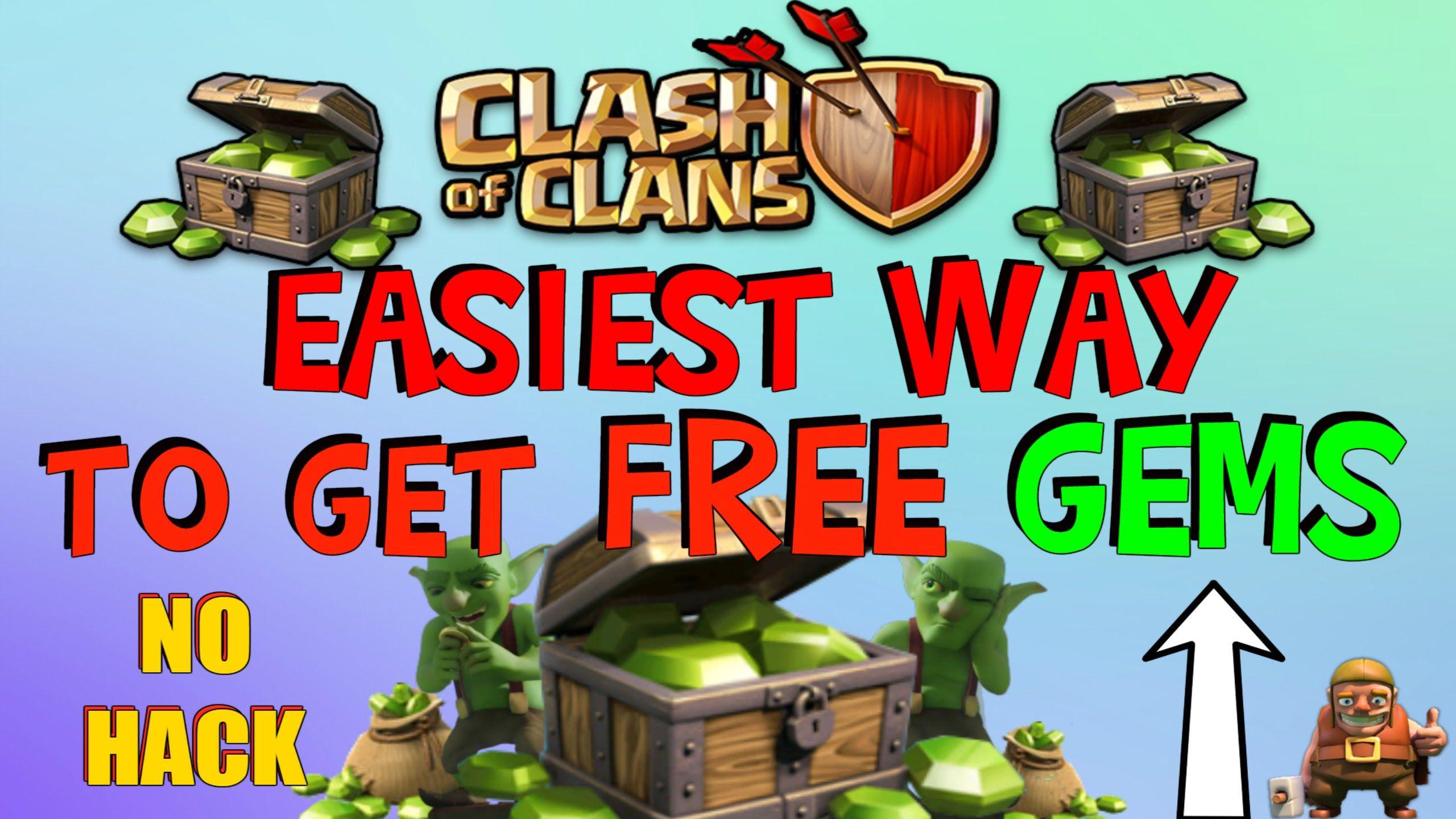 Clash Of Clans Unlimited Gems No Survey