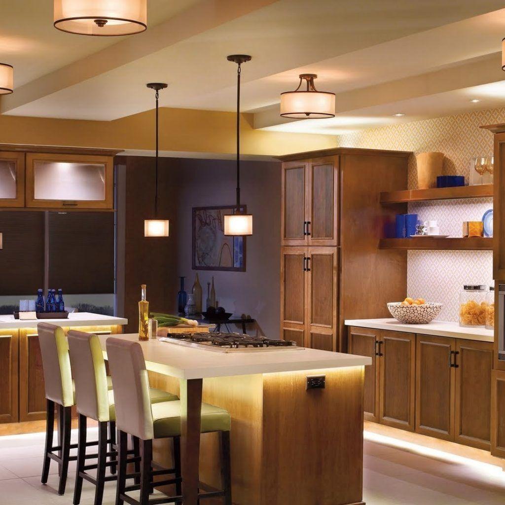 led kitchen lighting sets modern
