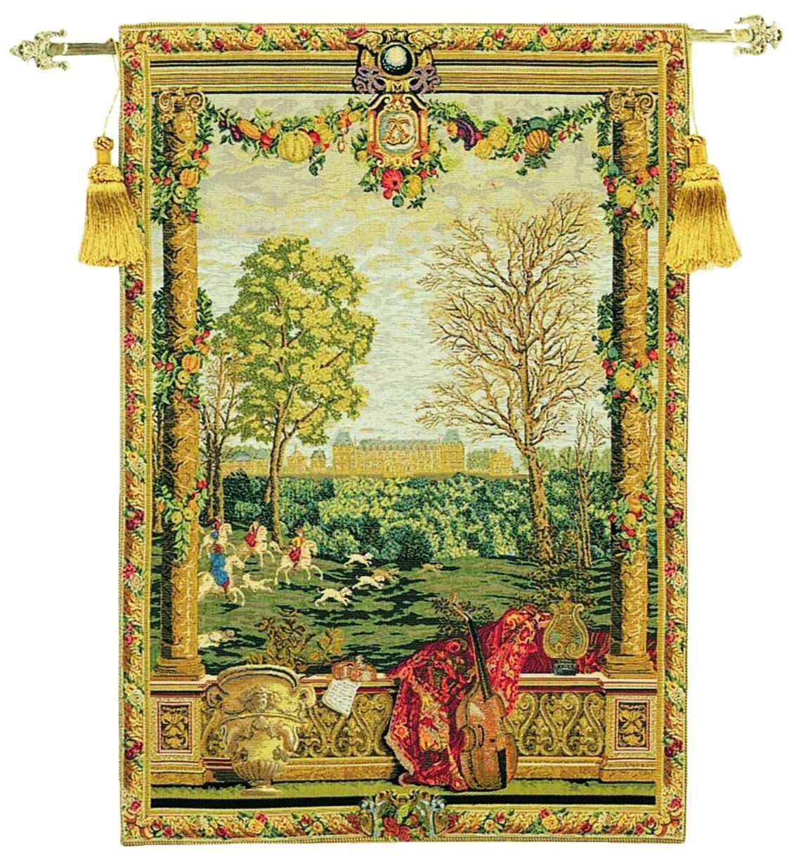 Corona Decor Fall Symphony European Tapestry Wall Hanging ...
