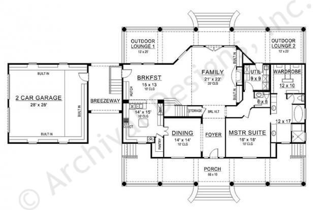 Williamsburg House Plan First Floor Plan | Floor Plans ... on colonial style house plans, colonial mansion home plans, colonial house plans with porches,