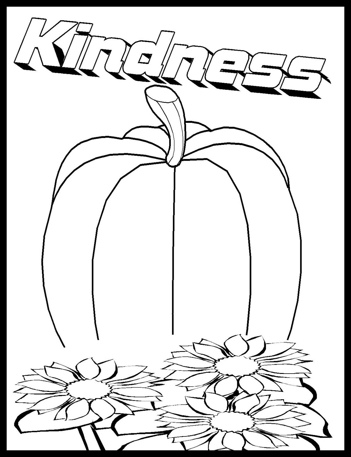 Fruit Of The Spirit Love Coloring Pages