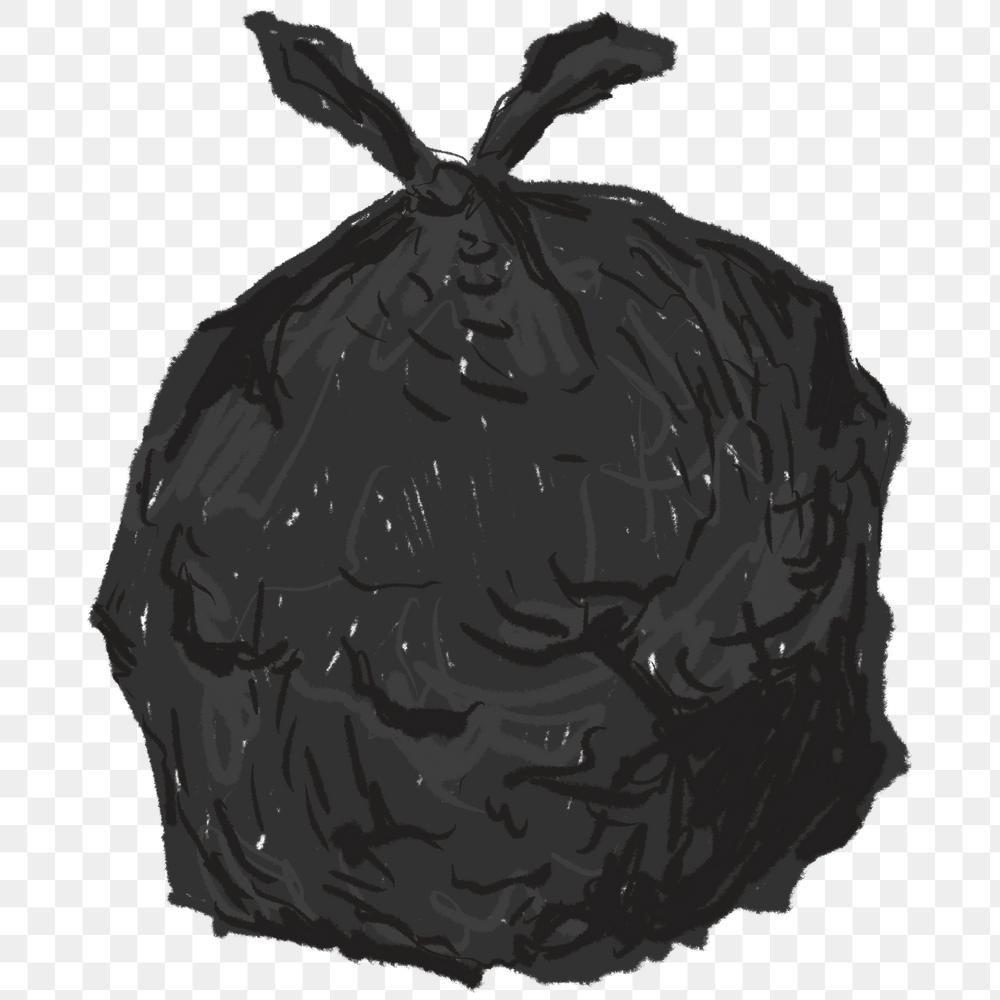 Black Bin Bag Element Transparent Png Free Image By Rawpixel Com Sasi Black Bin Bin Bag Bags