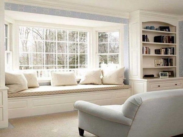 36 Cozy Window Seats And Bay Windows With A View Freshome Com Window Seat Design Window Seat Home