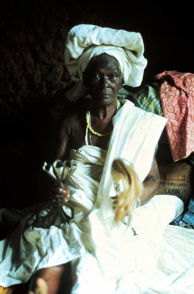 Sacerdotisa da deusa Oduduwa