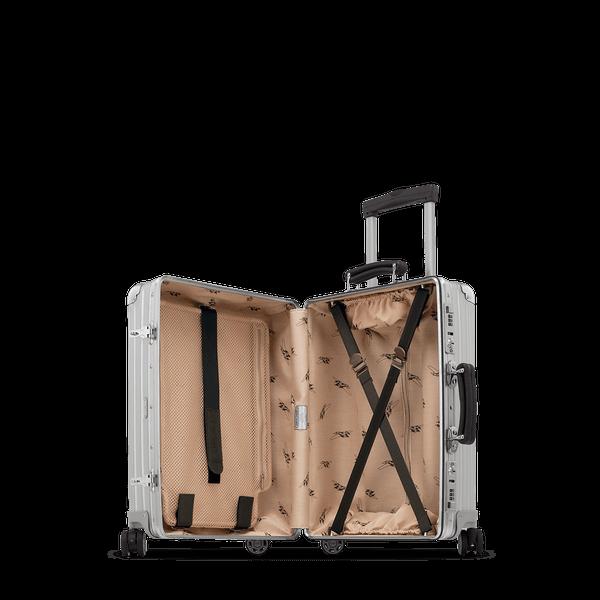 Rimowa Classic Flight Cabin Multiwheel 35 0l Silver Carry On Luggage Rimowa Luggage Carry On Luggage