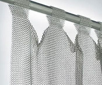 Stainless Steel Tab Top Curtain Curtains Curtains With Blinds
