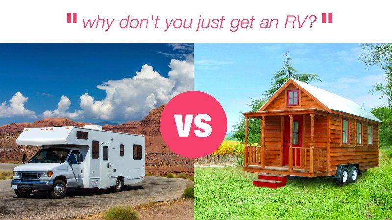 Tiny House Vs Rv 6 Reasons A Tiny Dominates Buy A Tiny House