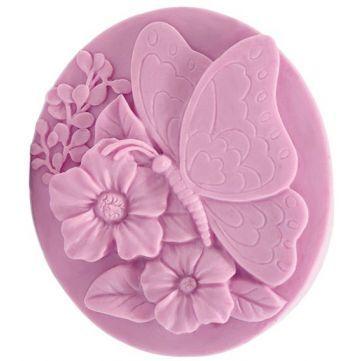 Molde Para Fabricar Tus Propias Pastilla De Jabon Con Mariposa Tallado En Jabon Jabones Jabones Decorativos