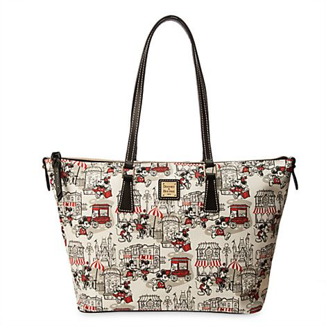 2f75f1645c7 Mickey and Minnie Mouse Downtown Shopper by Dooney   Bourke