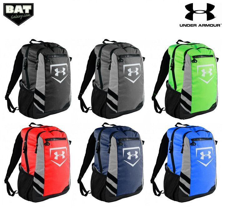 3992c77f46a1 Under Armour UA Hustle Baseball/Softball Backpack Equipment Bat Bag ...