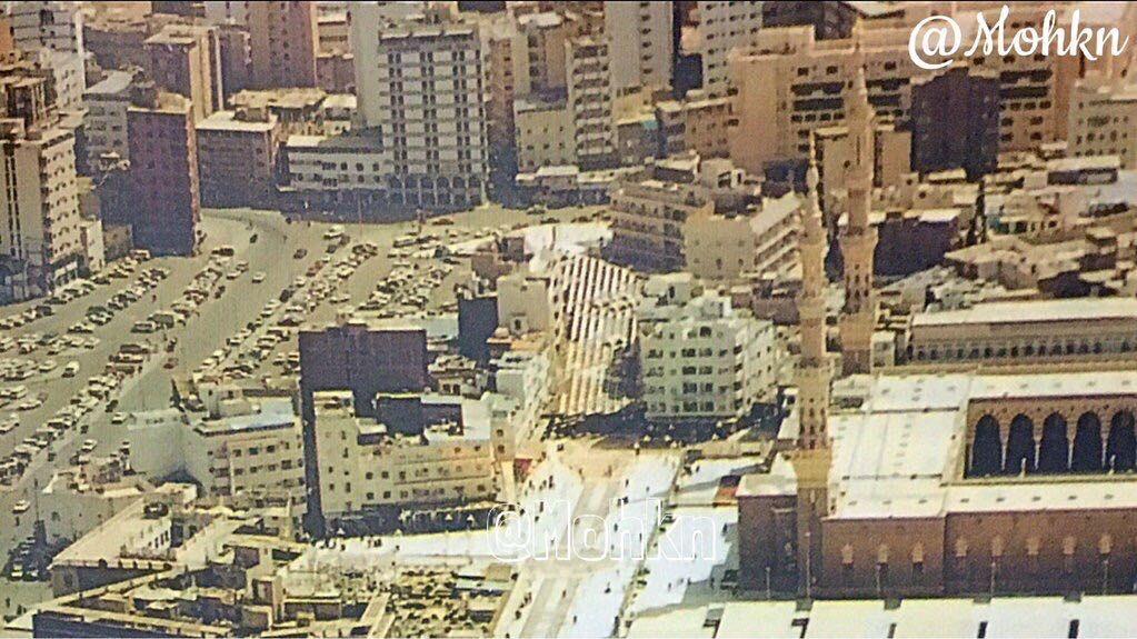 منظر عام لأحد مناطق المدينة المجاورة للمسجد النبوي الشريف City Saudi Arabia Medina
