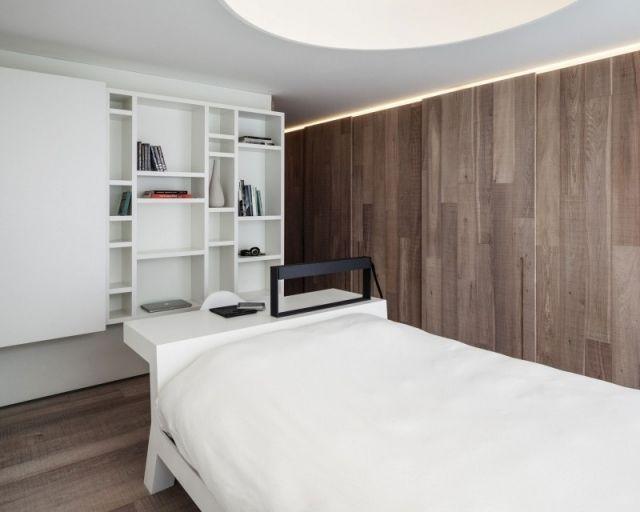 Moderne Wohnung auf schmaler Fläche, aber mit stilvoller - gestaltungsmoglichkeiten einraumwohnung