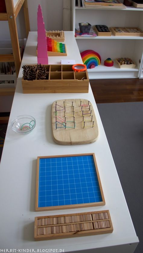 Montessori kinderzimmer education pinterest for Montessori kinderzimmer