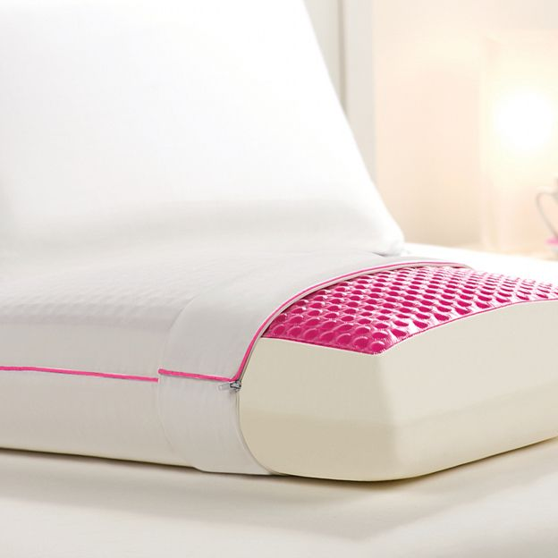 Hydraluxe Always Cool Gel Pillow By Comfort Revolution From