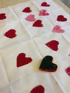 Naptime Creations By Mia: Valentine Sponge Stamping