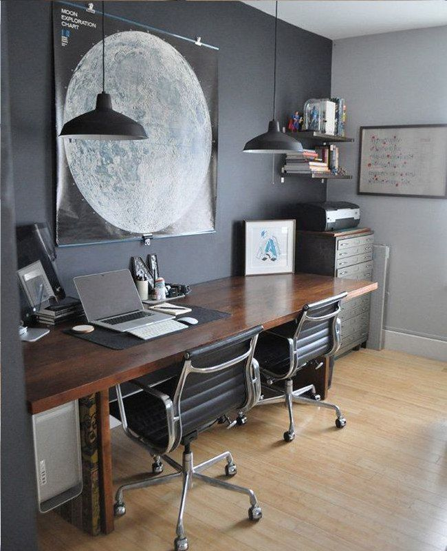 Home Office Design Examples: Home Office Decor. Office At Home And Home Study Style