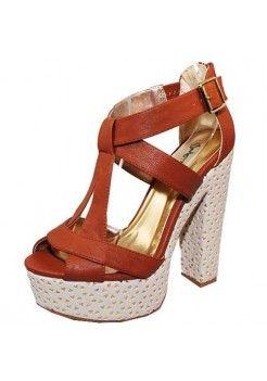 GEOMETRIC PLATFORM SANDALS-Sandals-Sexy Sandal, High heel sandals, prom dress sandals, Evening dress sandals, Party Dress sandals, Club Dress sandals, Thong sandals
