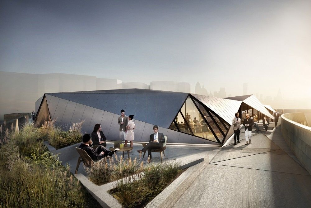 Best Sheppard Robson Designs Rooftop Pavilion For Aldwych House 400 x 300