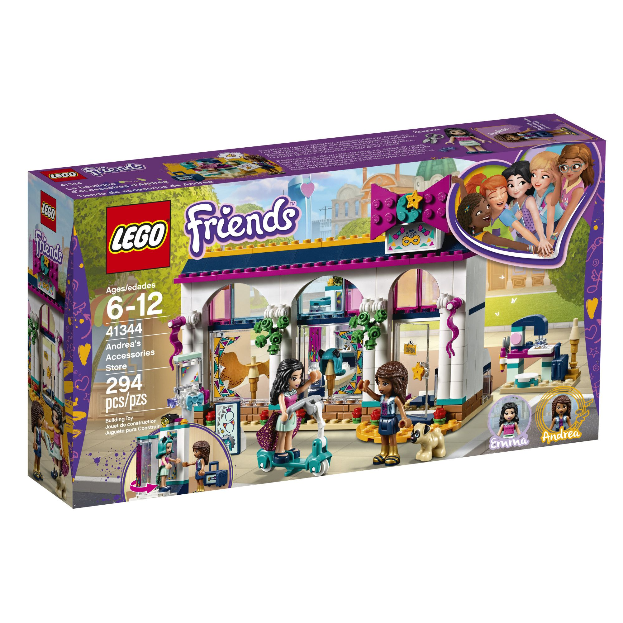 Lego Friends Andrea S Accessories Store 41344 Lego Friends Lego Friends Sets Lego