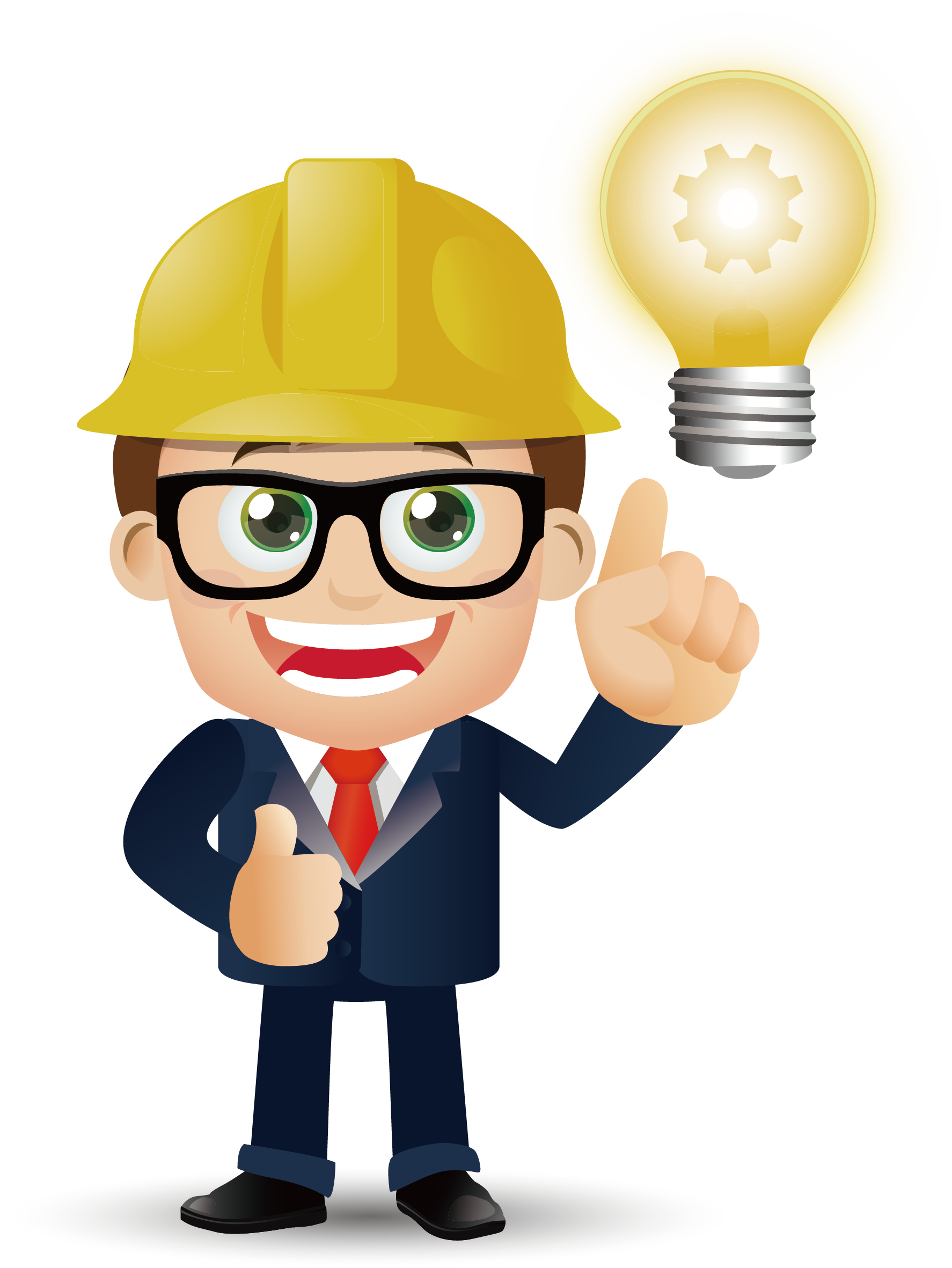 Material Vector Architecture Architectural Cartoon Engineer Vector Character Design Engineer Cartoon Smile Illustration