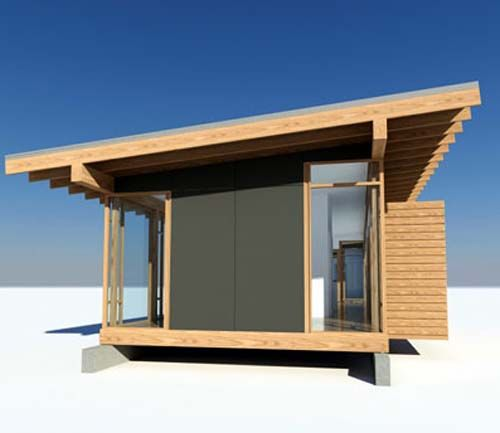 Whidbey Island Cabin, Glass Wood House Design By Vandeventer + Carlander  Architects