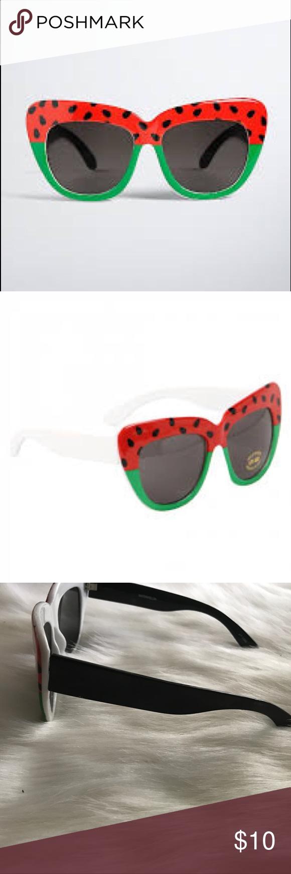 2e2f25694eff8 🍉Watermelon Sunglasses 🍉 Fun and cute watermelon sunglasses by Torrid😍😍😍  ✨Frame