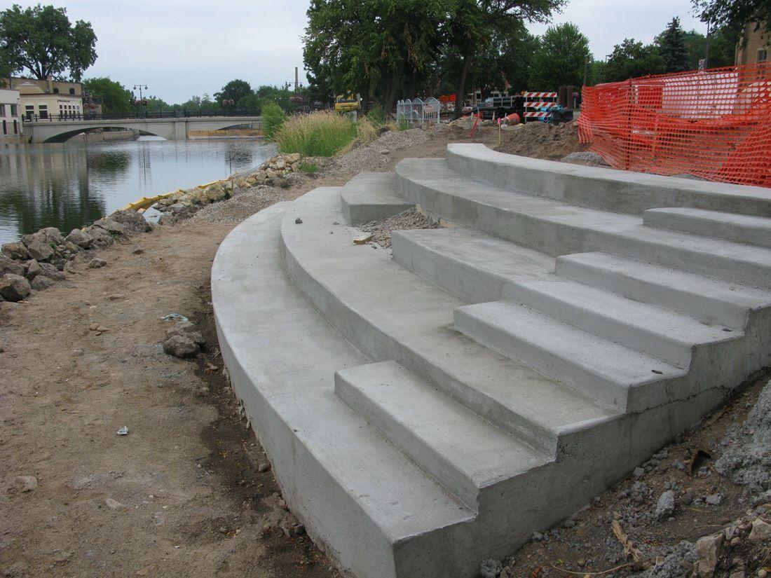 pond retention | Pond, Sidewalk, Wood