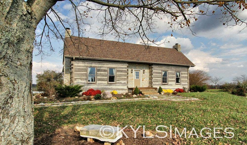 Historic Log Cabin, Pond, Log Cabin For Sale, Kentucky Homes And Land,