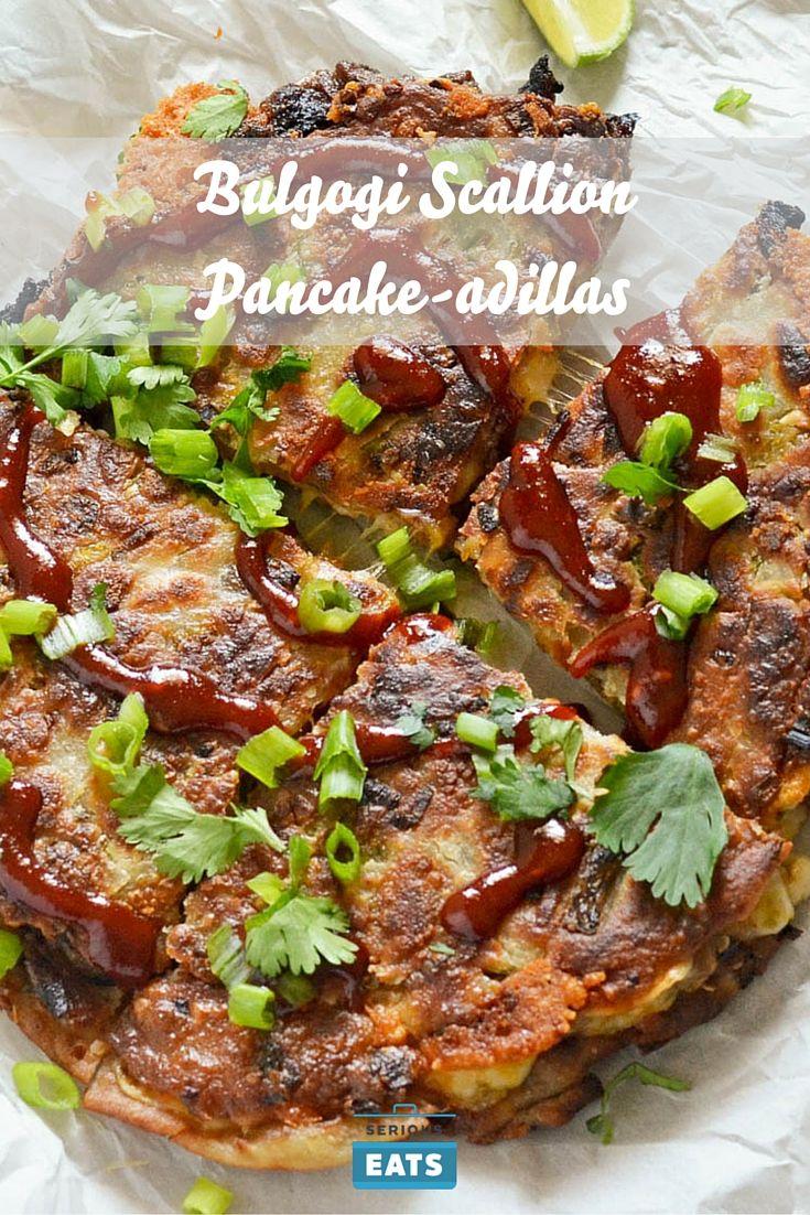 Bulgogi Scallion Pancake-adillas | Recipe | Scallion ...