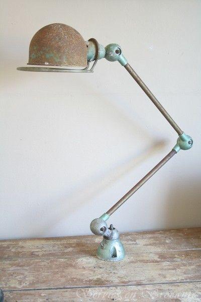 Fantastic Patina For This Jielde Lamp 2 Arms.