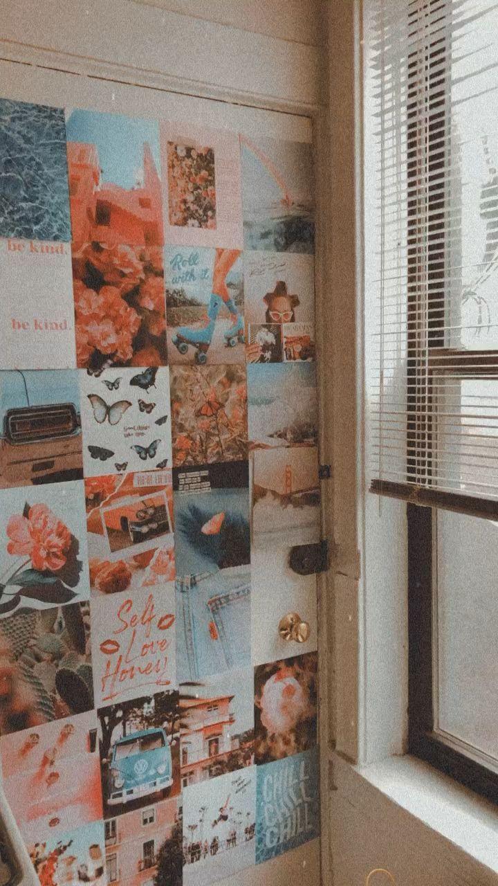 80s dorm room