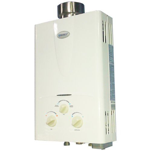 Marey Power Gas 5l 1 3gpm Propane Gas Tankless Water Heater Marey Http Www Amazon Tankless Water Heater Hot Water Heater