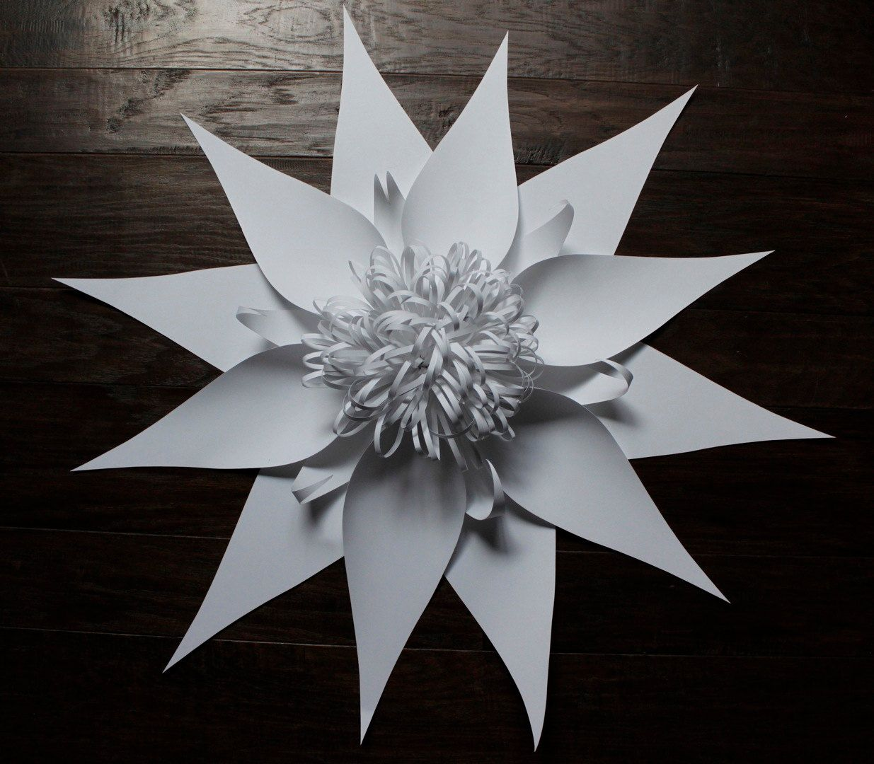 Paperflowerlargebybalushkaonetsy8000 Paper Flowers