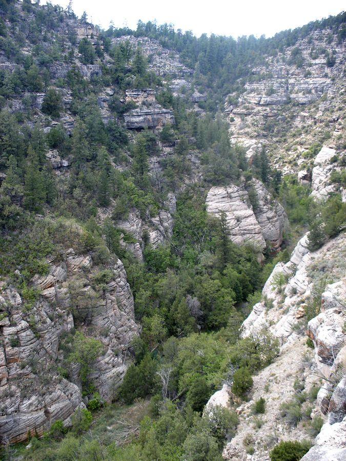 Walnut Canyon West With Images National Monuments Montezuma