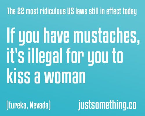 Ridiculous laws in the us