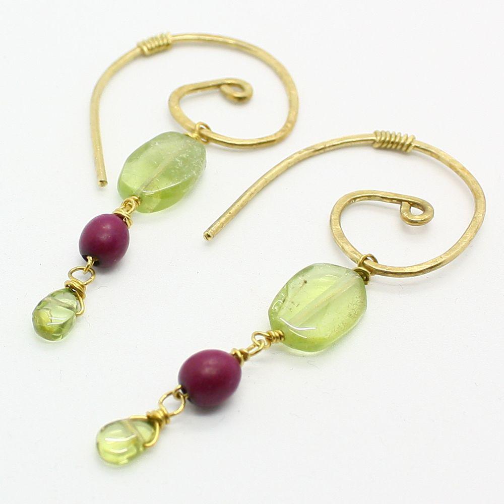 Colibr _pendientes Earrings Serie Limitada_limited Series  # Muebles Hutam Ltda