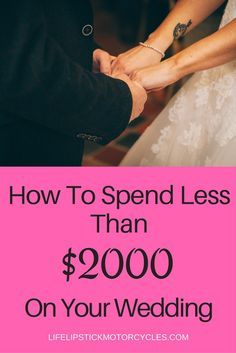 How To Plan A Wedding For Under 2000