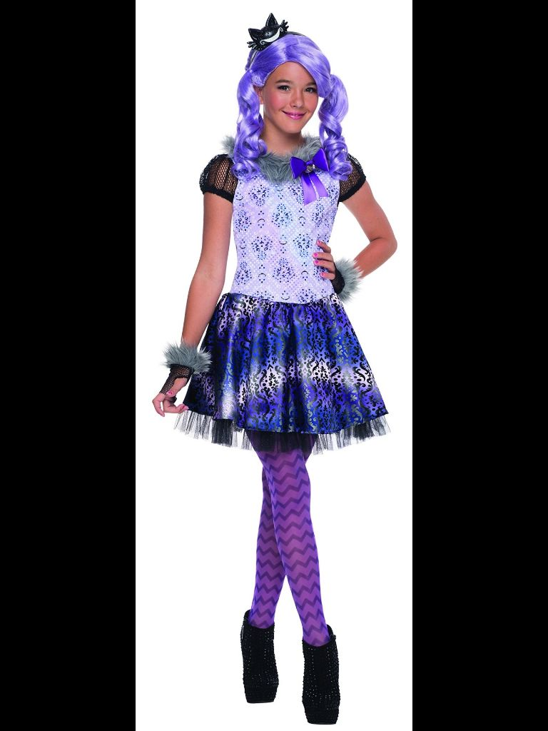 Girls Ever After High Wigs Halloween Fancy Dress Costume Outfit Accessory