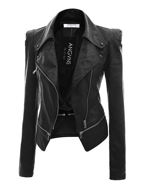 173b6ef440ef Women s Faux Leather Jacket