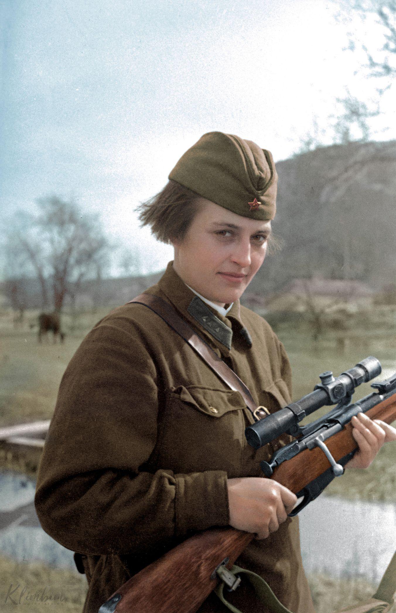Lyudmila Pavlichenko Famous Soviet Sniper Ww2