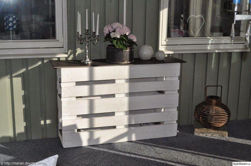 Muebles de palets: Mostrador o mesa expositora con 2 palets | palets ...