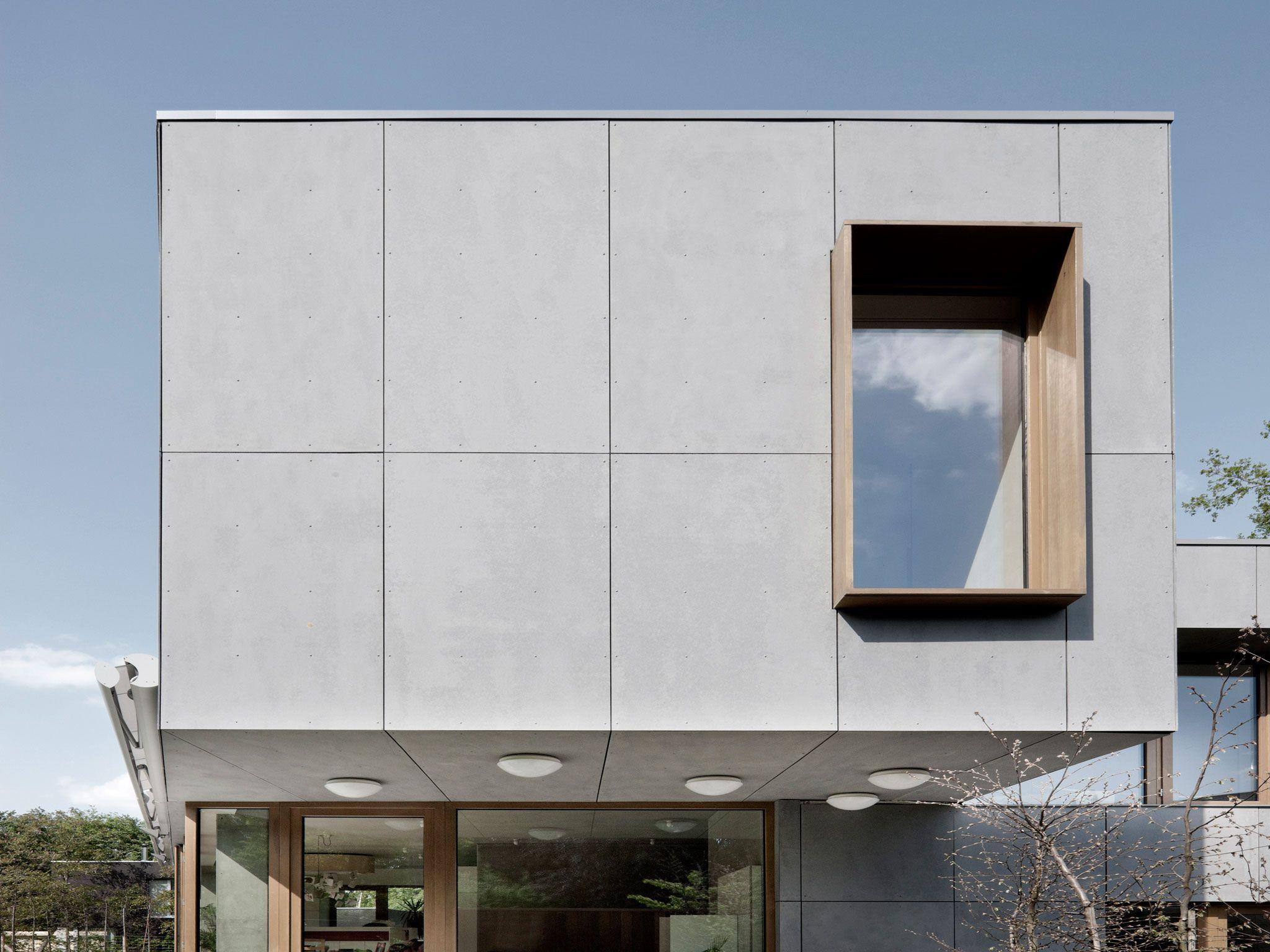 equitone facade panels equitone facade panels belgium blanden passive house. Black Bedroom Furniture Sets. Home Design Ideas