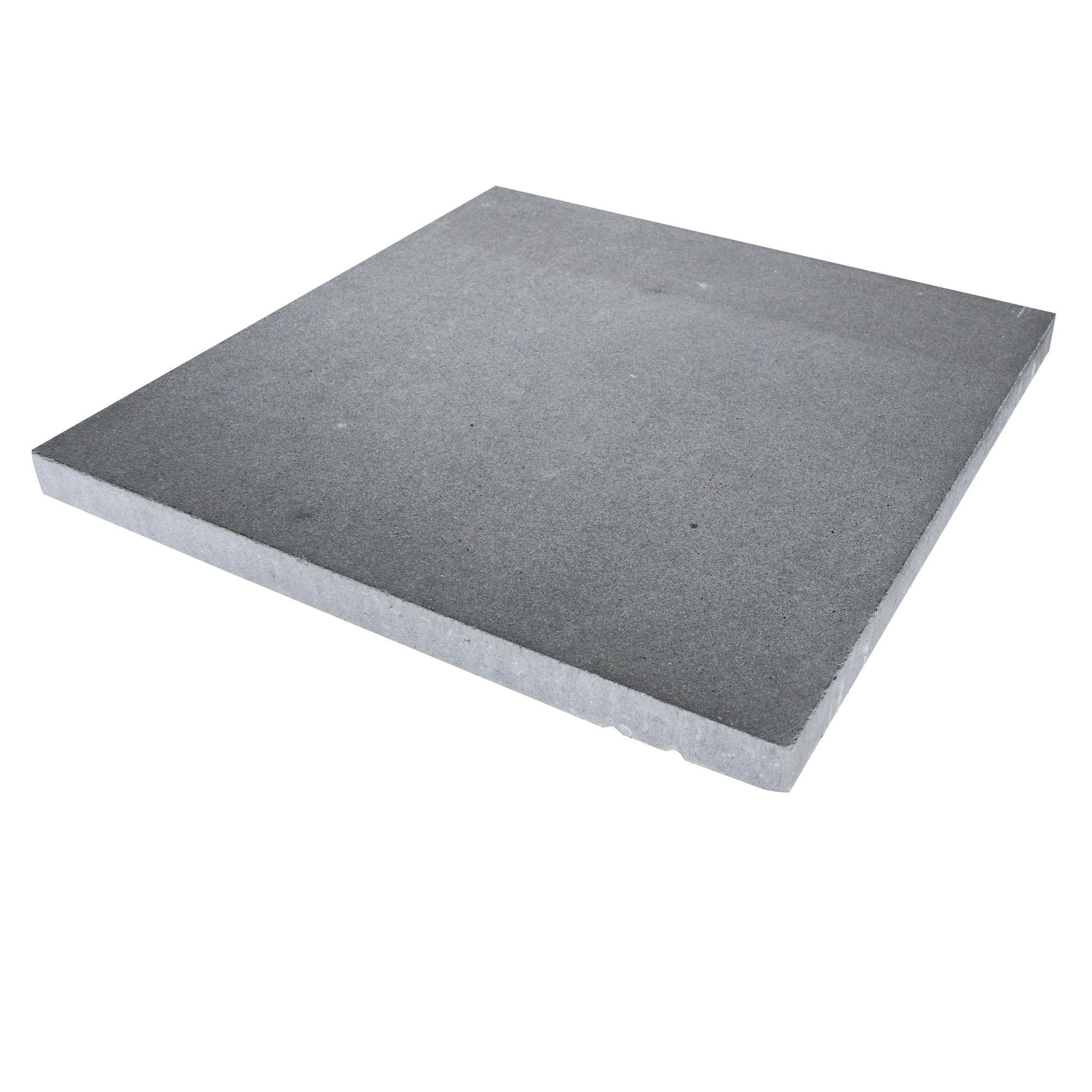 Tuintegels 60x60 Zwart.Terrastegel Beton Vegas Zwart Nuance 60x60 Cm 36 Tegels