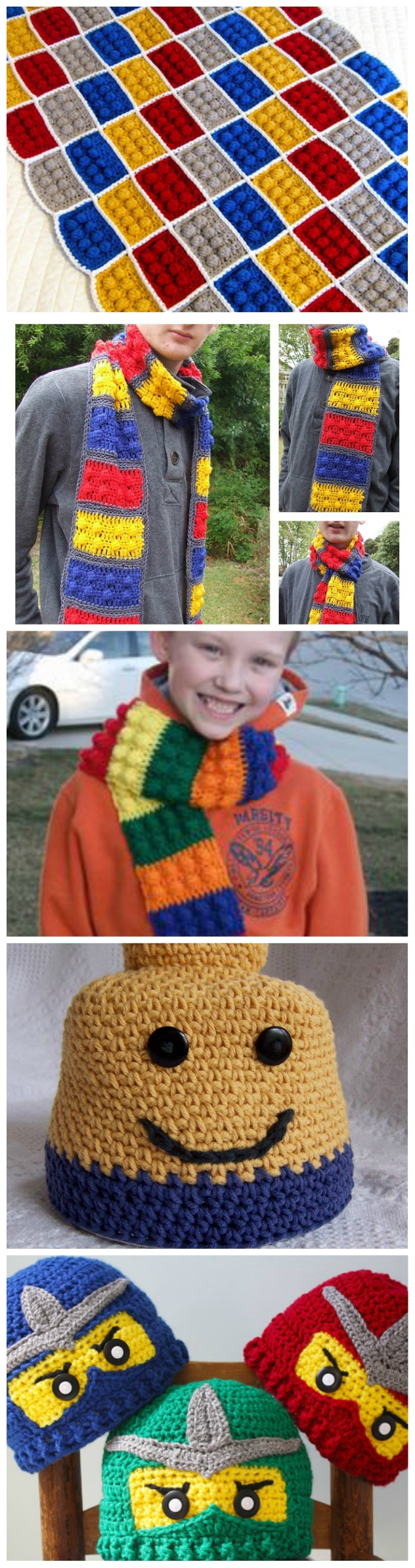 How to Crochet Lego Pattern