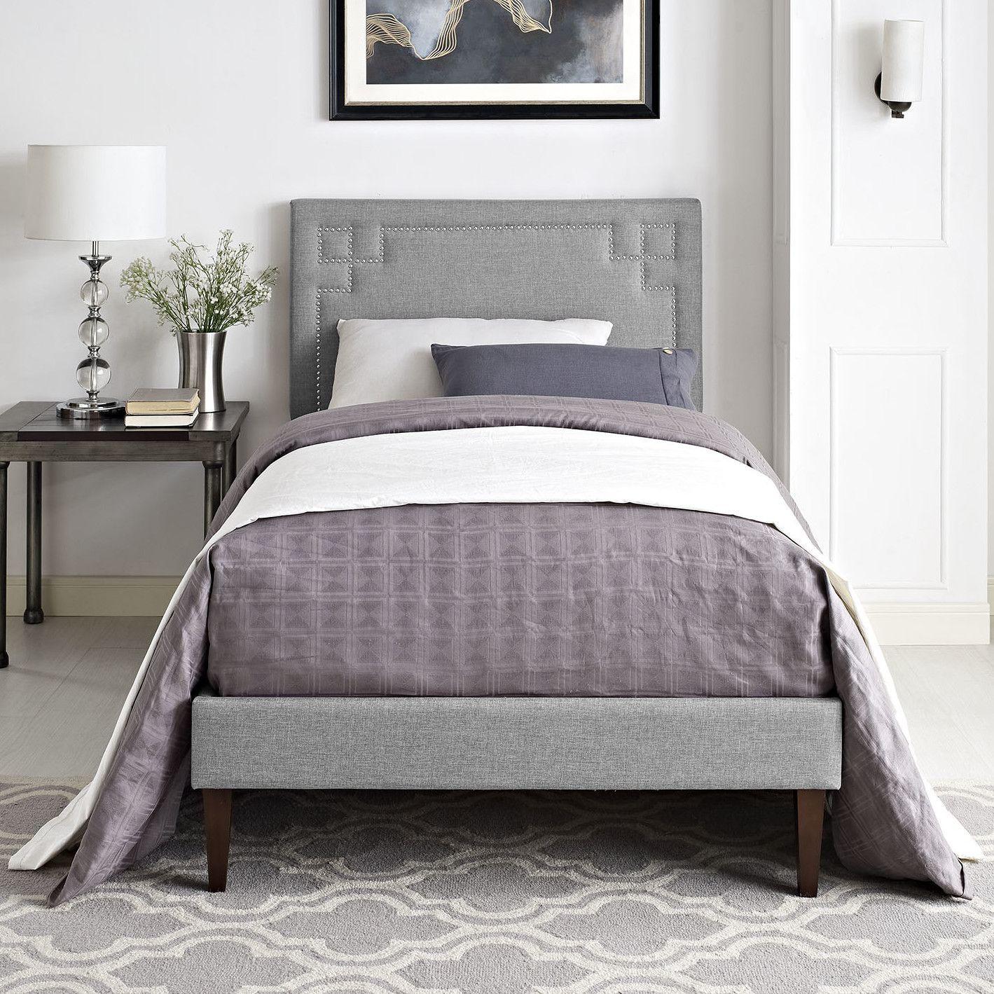 Best Josie Upholstered Platform Bed With Images Upholstered 400 x 300