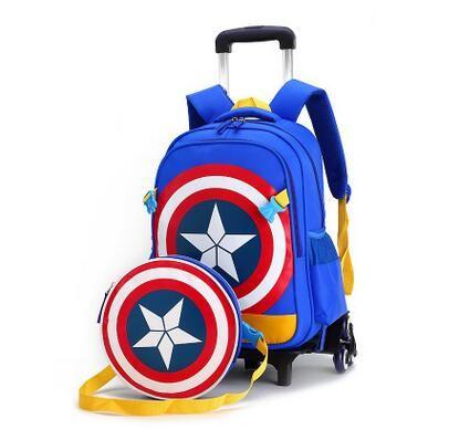 Kids Rolling Backpack kids School Trolley Bag wheeled backpack for ...