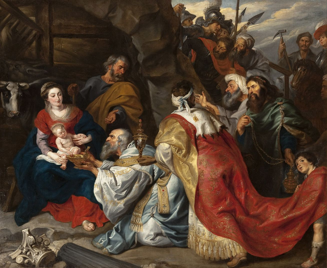 Image result for adoration of the magi