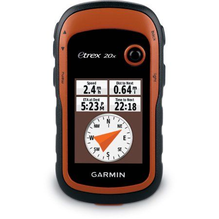 Etrex 20x Handheld GPS Garmin etrex, Gps navigation