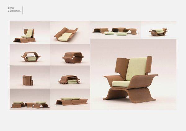 Beau Modular Furniture With Many Different Functions C1 Image